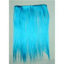 teal hair extensions turquoise 4 clip hair extensions