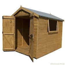 Tongue And Groove Shiplap Cotswold 8x6 Premium Tongue Groove Apex Shed