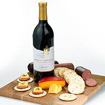 Wine And Cheese Basket Wine U0026 Cheese Baskets Gifts For Wine Lovers Gift Baskets