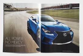 lexus rcf blue 2016 lexus rc f brochure muehlenweg art digital