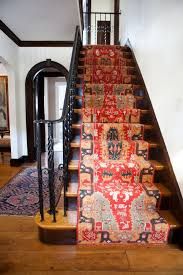 Stair Landing Rug Best 25 Striped Carpet Stairs Ideas On Pinterest Bannister