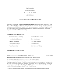 Caregiver Job Description Resume by Visual Merchandiser Job Description Resume Free Resume Example