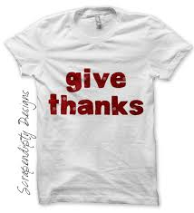 thanksgiving tshirt scrapendipity designs give thanks iron on transfer pattern
