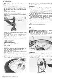 1971 1981 kawasaki g5 ke100 motorcycle service manual