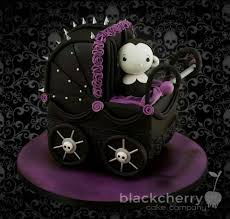 Cake Halloween Decorations Learn How To Make This Baby Vampire In A Gothic Pram Through Paul