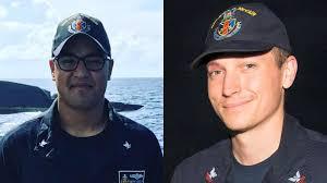 navy identifies two marylanders among missing sailors baltimore sun