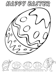 awesome easter egg coloring pages with egg coloring page