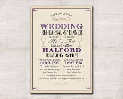 rehersal dinner invitations wedding rehearsal dinner invitation custom printable