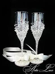 personalized glasses wedding 15 best decoración de días de pareja images on