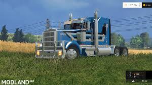 kenworth semi kenworth w900l mod for farming simulator 2015 15 fs ls 2015 mod