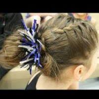 gymnastics picture hair style best hairstyles for gymnastics hairstyles wordplaysalon
