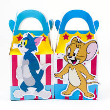 box picture detailed picture tom jerry favor box