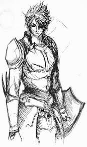 Warrior Of Light Classic Warrior Of Light By Fusherin On Deviantart