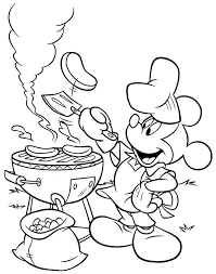 mickey mouse clubhouse coloring pages disney cartoons printable