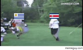 Costa Rica Meme - how costa rica responded to being put in a group of death featuring