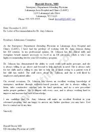 letter of recommendation sample medical employee mytemplate co