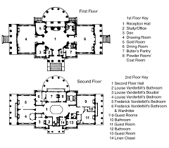 floor plans of mansions vanderbilt mansion ny a vanderbilt country palace brownstoner