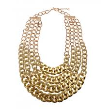 gold big chain necklace images Big gold chunky layered chain necklace layered gold chain necklace jpg