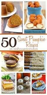 real food thanksgiving 50 sweet pumpkin recipes real housemoms