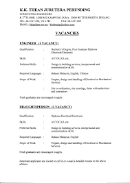 resume format for freshers diploma electrical engineers fresh sle resume diploma electronics gotraffic co