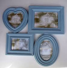 43 Best Shabby Chic Images by Collage Photo Frame Blue Wall Wood 43 X 42 Cm Modern Shabby Chic