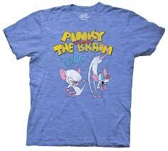pinky and the brain animaniacs brain kicking pinky u0027s distressed t shirt