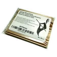 amazon com orange wood sticks nail art cuticle pusher remover