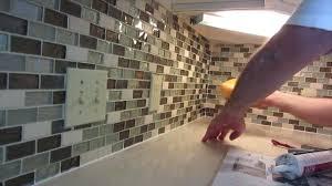 stone glass tile backsplash kitchen glass mosaic tile for elegant