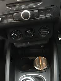 audi cup holder for sale a1 cup holder inserts in stainless steel audi sport