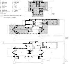 falling water floor plan falling water house plan pdf