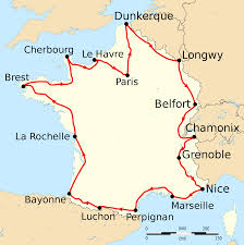 Nice France Map by File Tour De France 1911 Map Fr Svg Wikimedia Commons