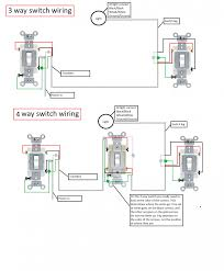 wiring diagrams 3 way and 4 way switch 3 way light switch wiring