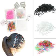 bobbles hair 250 mini elastic rubber hair bands bobbles cornrow braiding clear