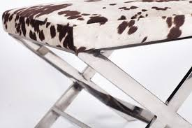 Sole Designs Ottoman by Iconic Home Diddle Cow Print Ottoman U0026 Reviews Wayfair