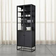 Mahogany Display Cabinets With Glass Doors by Storage Cabinets And Display Cabinets Crate And Barrel