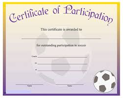 certificate of participation word template skillbazaar co