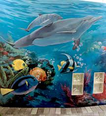 commercial murals by south florida mural artist georgeta fondos underwater mural broward medical center davie murals outdoor