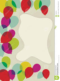 floating transparent balloon page border stock photo image 12989490
