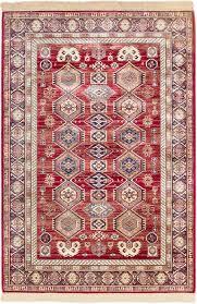 ecarpetgallery shiravan viscose dark burgundy area rug u0026 reviews