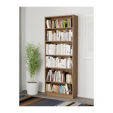 Bookshelves Oak by Billy Bookcase Oak Veneer 80x28x202 Cm Ikea