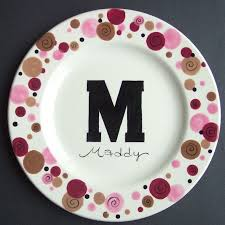 painted platters personalized 77 best wedding ideas images on ceramic painting