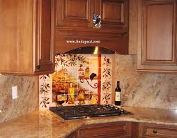 Kitchen Tile Backsplash Murals by Tuscan Backsplash Tile Murals Tuscany Design Kitchen Tiles