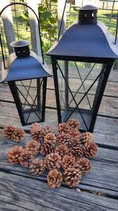 Easy Pinecone Lantern Festive Holiday Home Decor Surviving A