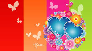 flowers and butterflies and hearts free download clip art free