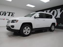 jeep compass white 2016 jeep compass 4 door suv latitude white used suv for sale