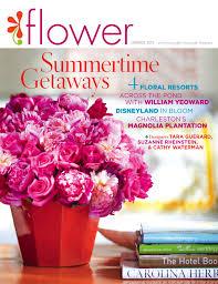 Wedding Flower Magazines - off the press u2013 flower magazine tara guérard soirée