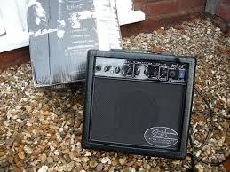 randall kirk hammett signature metallica kh 15 guitar combo amp