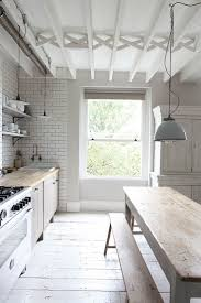 kitchen modern best 25 long kitchen ideas on pinterest black and white
