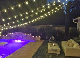 Backyard Lighting Ideas For A Party by Lighting System Affordable Backyard Pool Ideas 2265