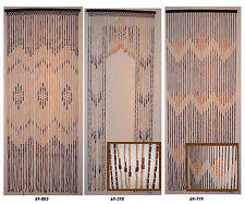 wood beaded curtain home u0026 garden ebay